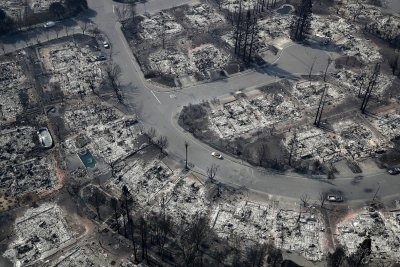 Santa Rosa aerial photos fire