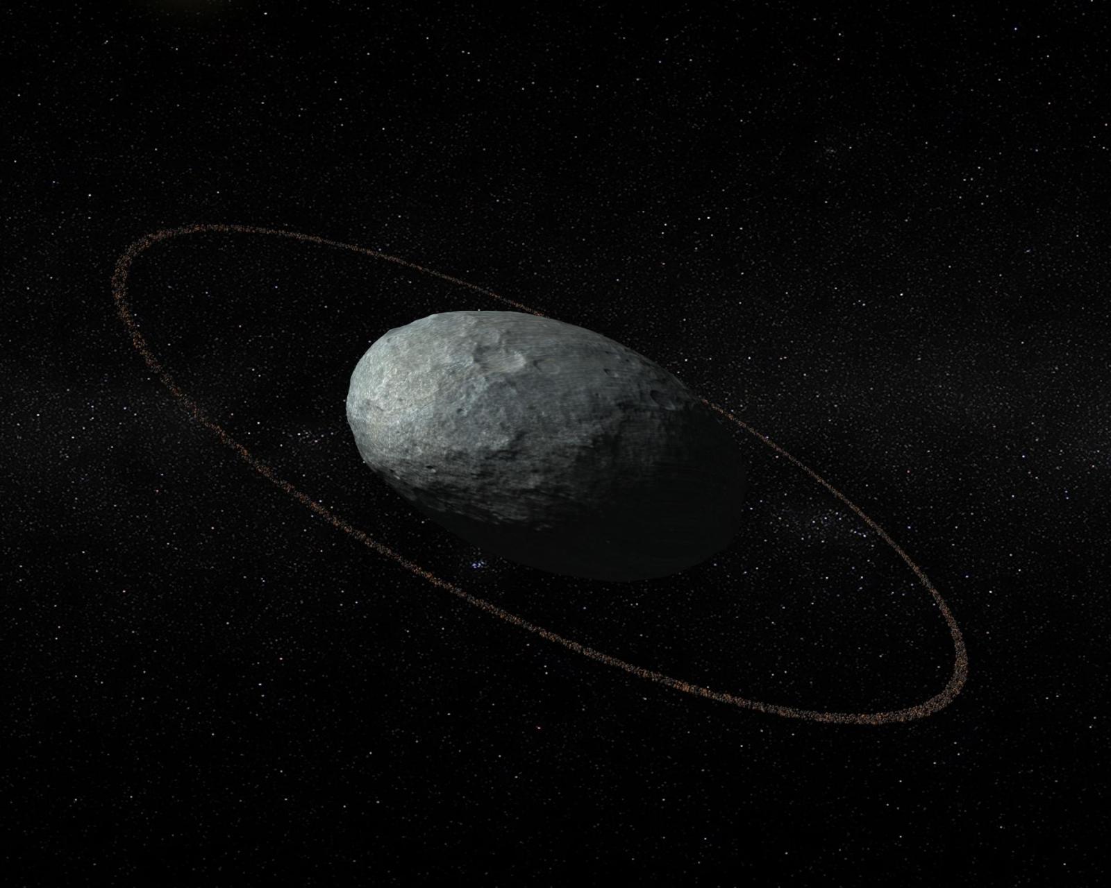 Haumea ring