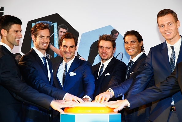 Djokovic, Murray, Federer, Wawrinka, Nadal and Berdych