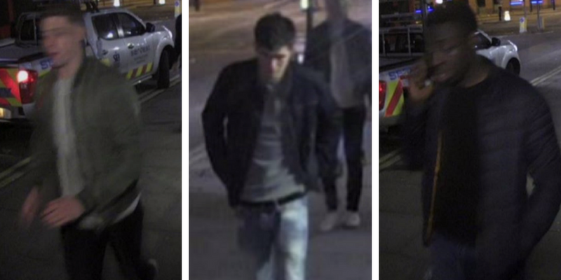 Gang wanted after London assault