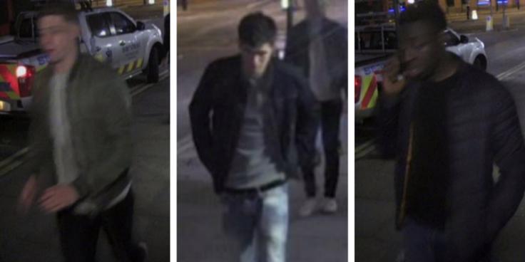 Gang wanted after London assault