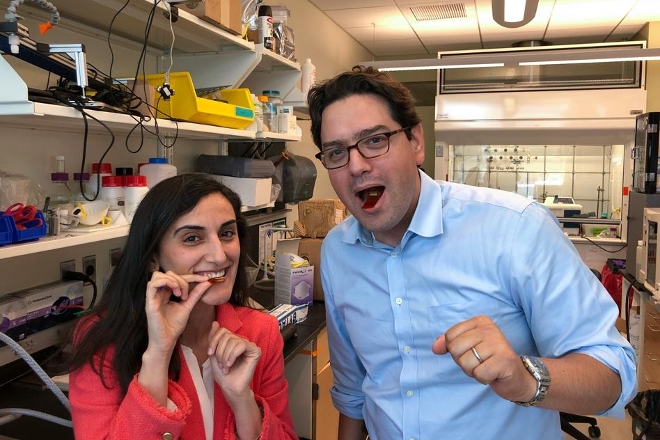MIT digestible sensor