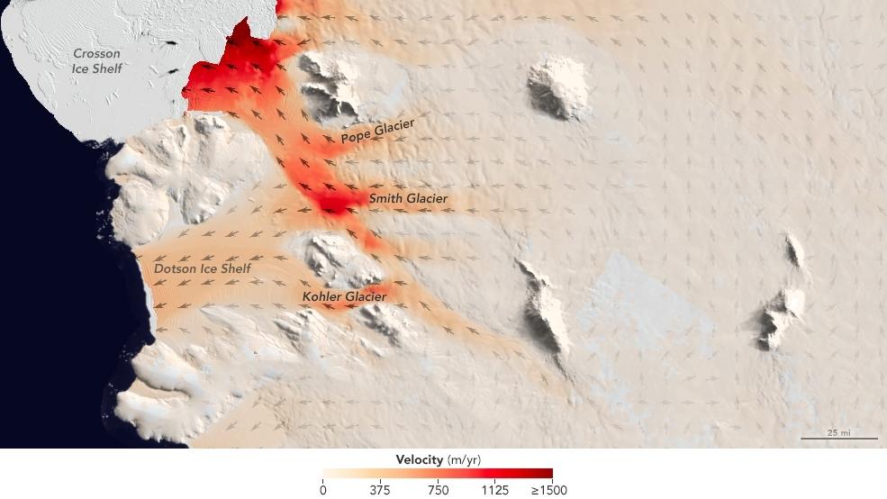 Dotson ice shelf