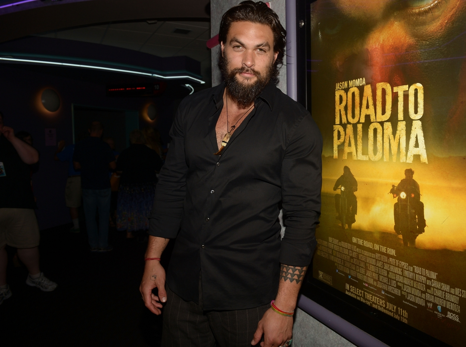 Jason Momoa joked that he loved pretending to