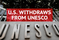 U.S. Withdraws From UNESCO Citing 'Anti-Israel Bias'