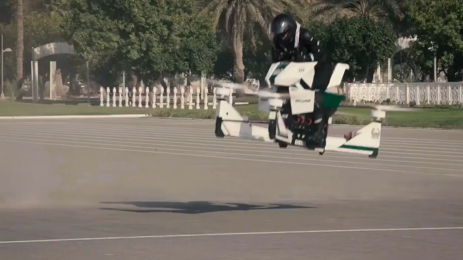 Star Wars Style Flying Bikes To Be Used By Cops In Dubai