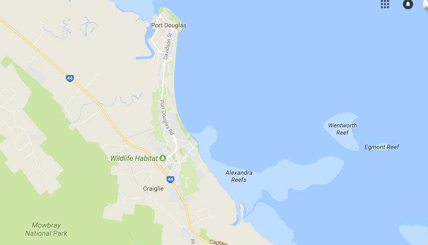 Map of Craiglie area