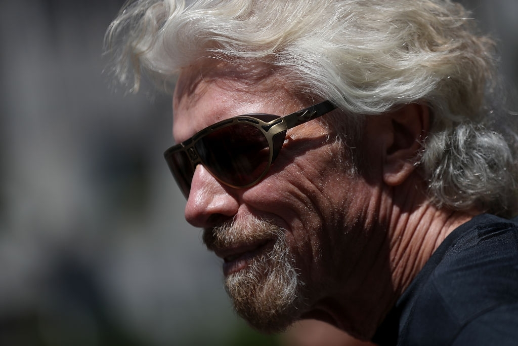 Richard Branson Hyperloop One