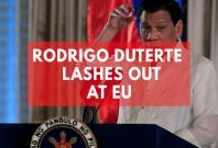 Philippines' Duterte Lashes Out At EU On U.N. Expulsion Threat