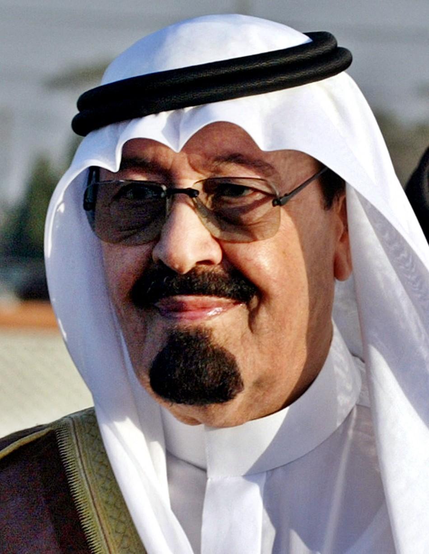Saudi King Abdullah