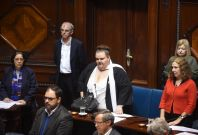 Uruguary transgender senator Michelle Suarez