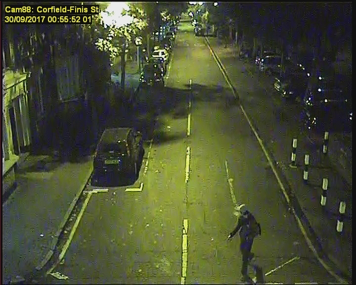 Police want to speak to the men caught on CCTV