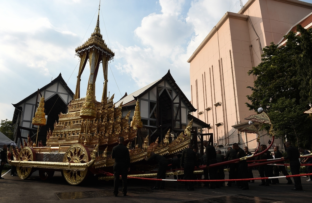 Thailand King Bhumibol funeral