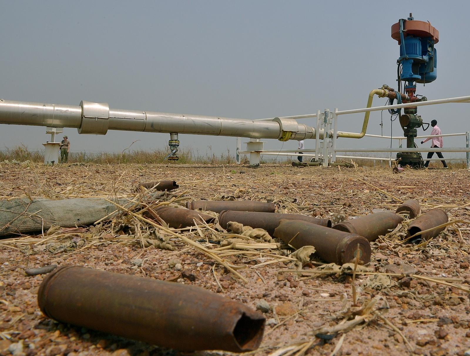 South Sudan oil pipeline