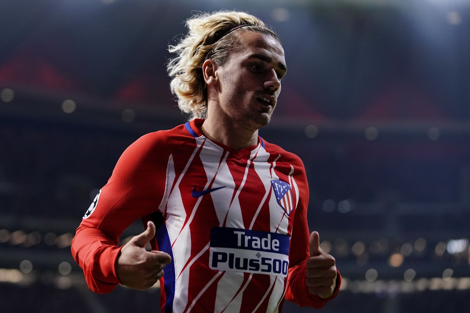 Antoine Griezmann 'happy' at Atletico Madrid after ...