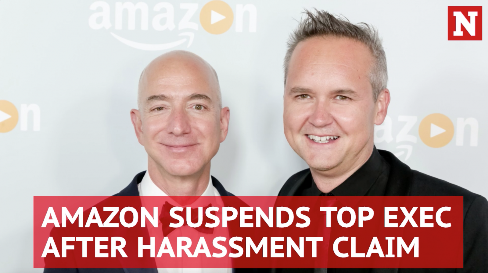 Amazon exec Roy Price suspended amid harassment claim