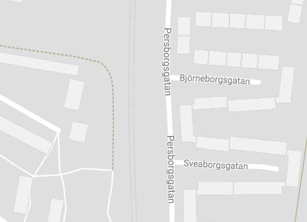 Bjorneborgsgatan in Malmo, Sweden