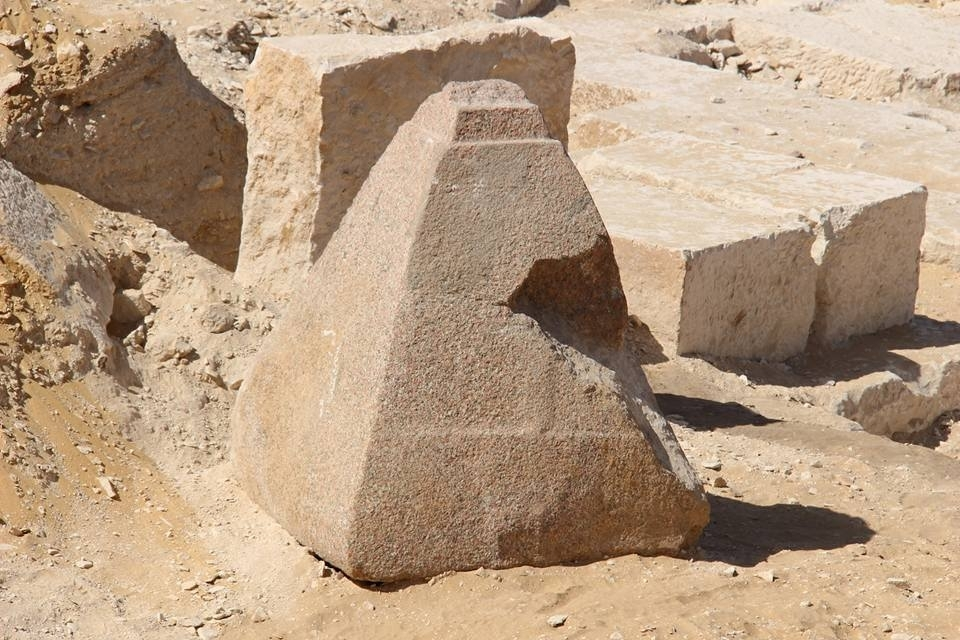 Ancient Egypt Archaeologists Discover Pyramidion Clue At