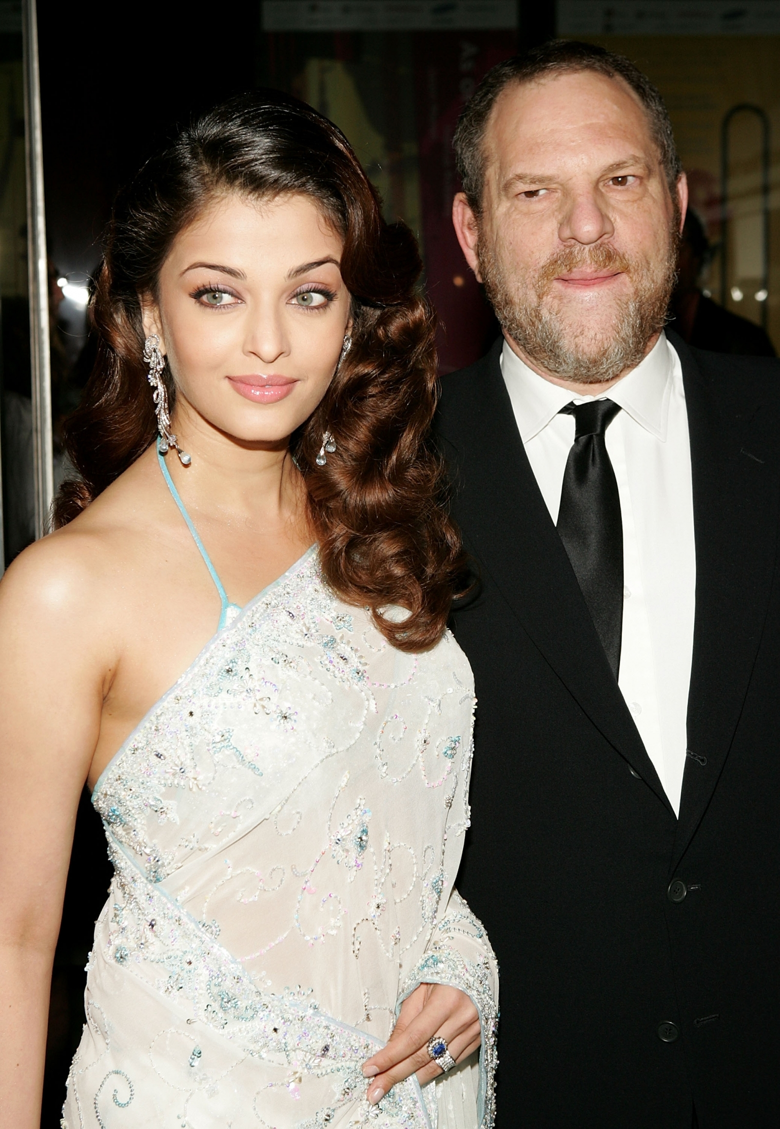 Aishwarya Rai Bachchan with Harvey Weinstein