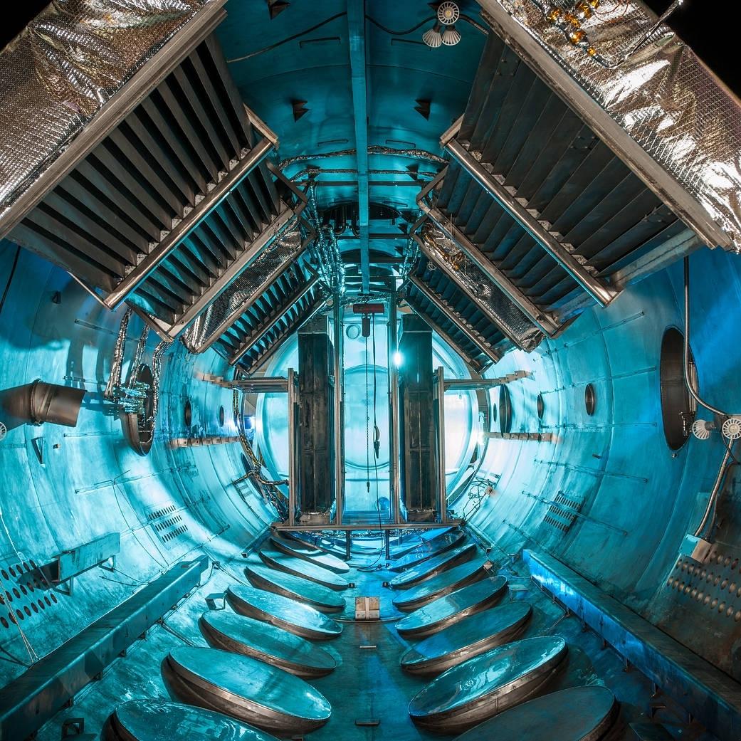 Vacuum chamber at NASA