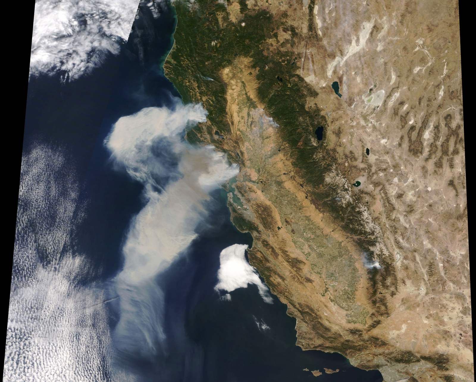 California Wildfire smoke