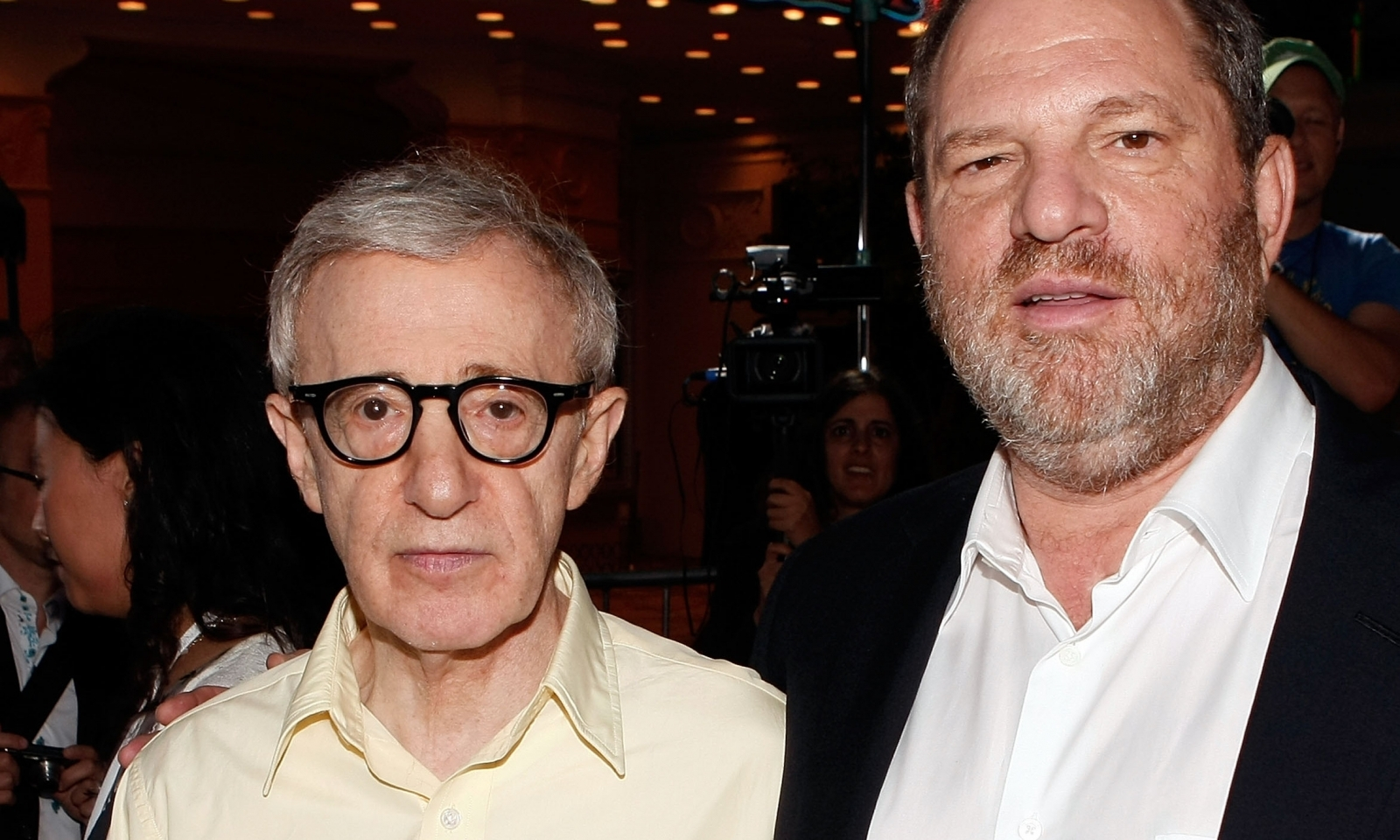 Woody Allen Harvey Weinstein