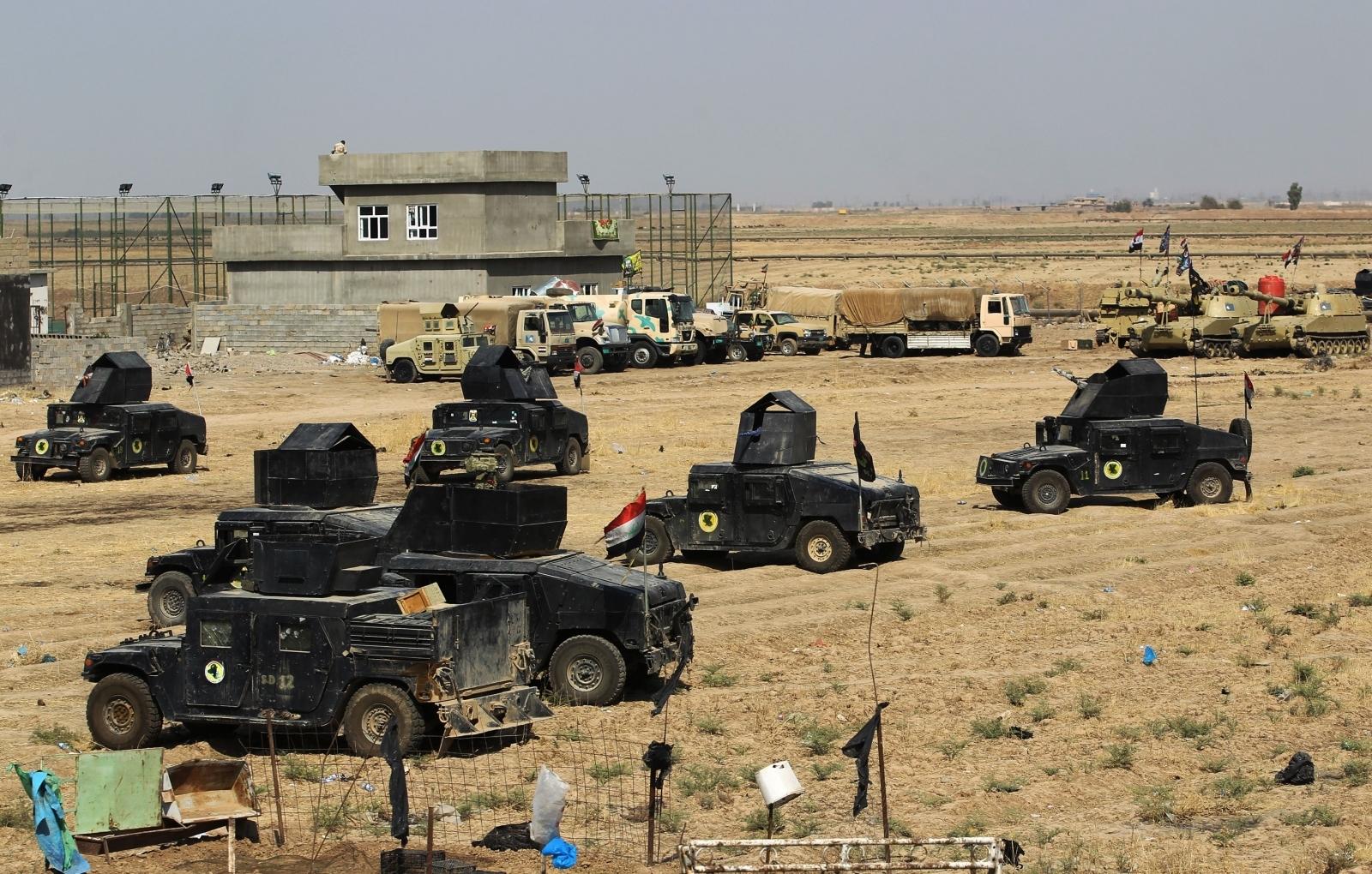 Iraq army soldiers Kirkik