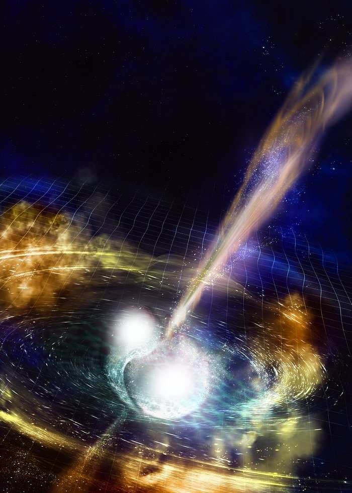gravitational wave - cataclysmic explosion