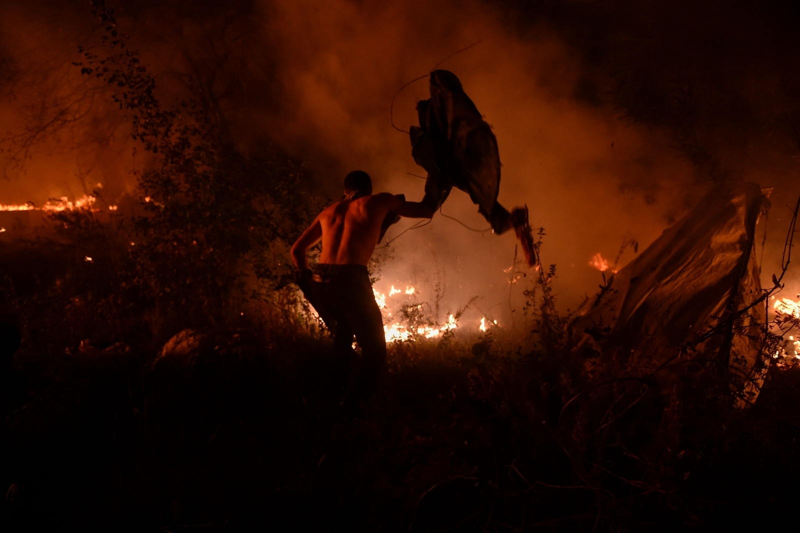 Spain Galicia fires