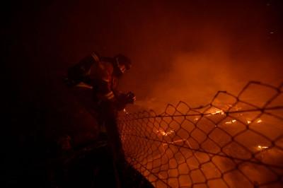 Spain Galicia fires