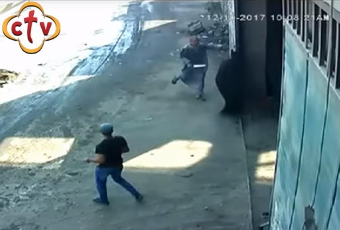 Coptic priest stabbing