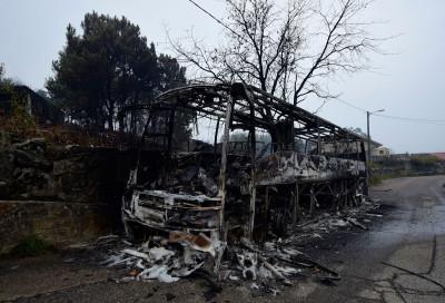 Spain fires galicia