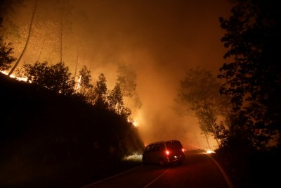 Spain fires galicia