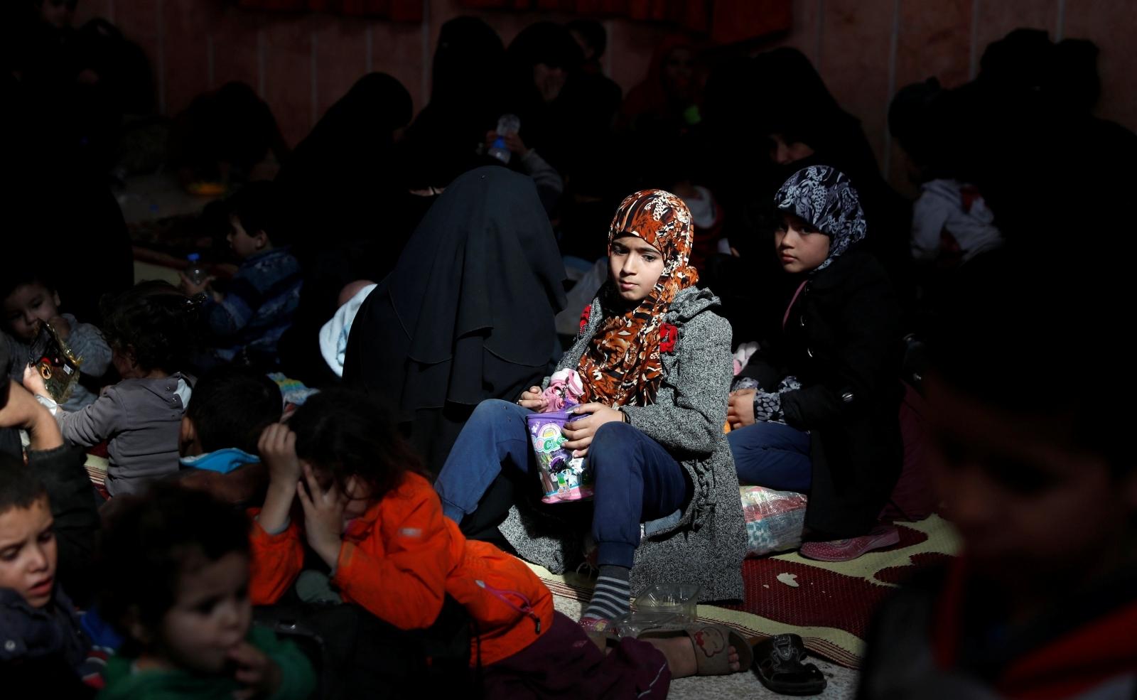 raqqa civilians