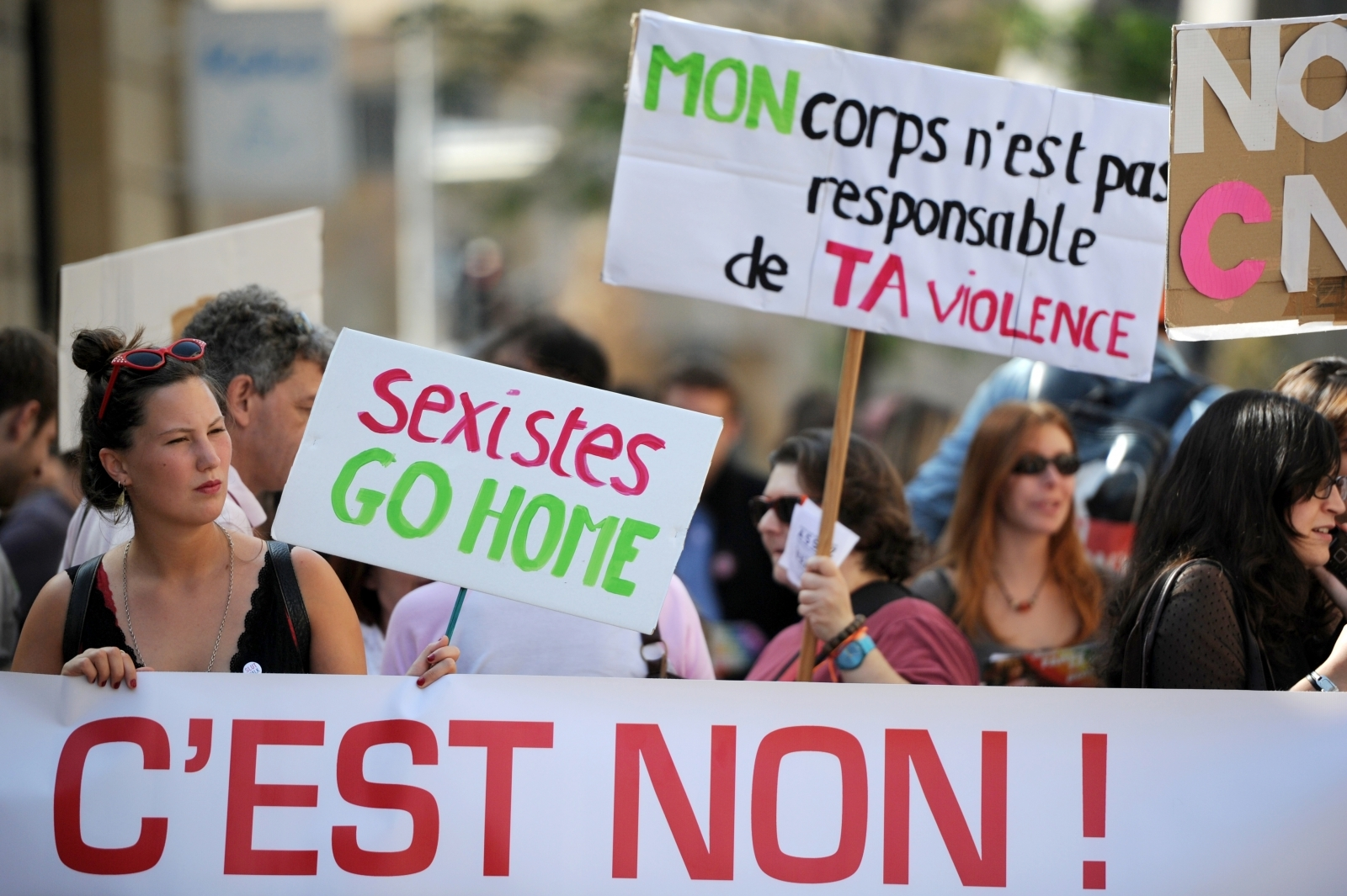 sexual harassment in france and the A man in france has been given a 300-euro (£270) fine for sexual aggression under a new law against street harassment the man, 31, has also been sentenced to three months in prison for what the judge ruled was an outright case of sexual aggression against the woman, and the attack on the driver.