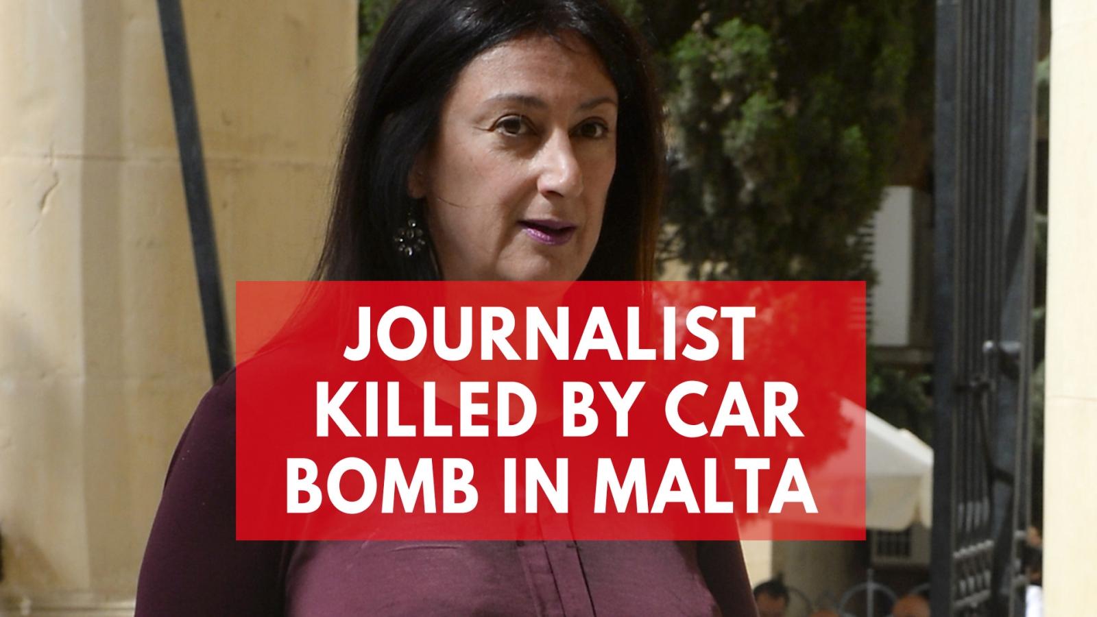 Prominent Journalist Daphne Caruana Galizia Dies In Car Bomb Attack In Malta