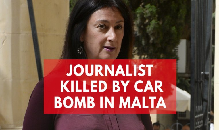Prominent Journalist Daphne Caruana Galizia Dies In Car Bomb Attack In Malta