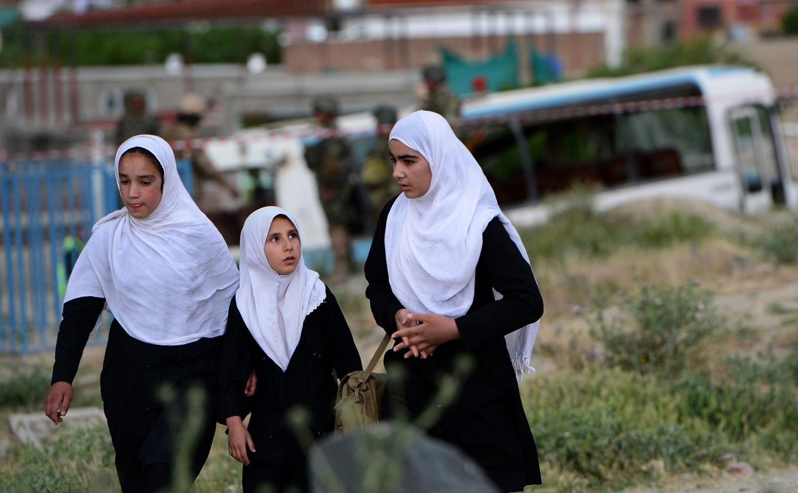 Afghan schoolgirls