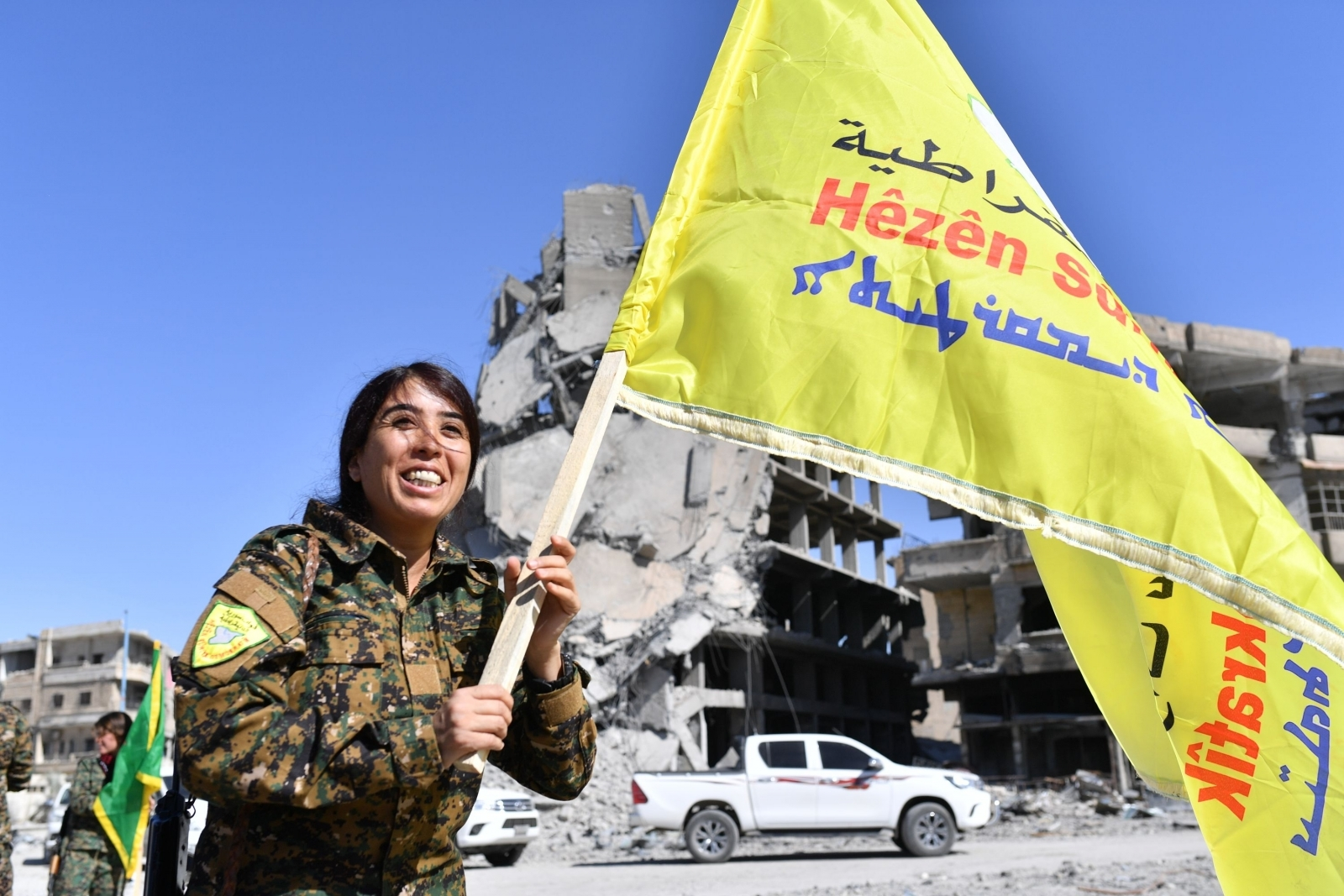 Raqqa liberated