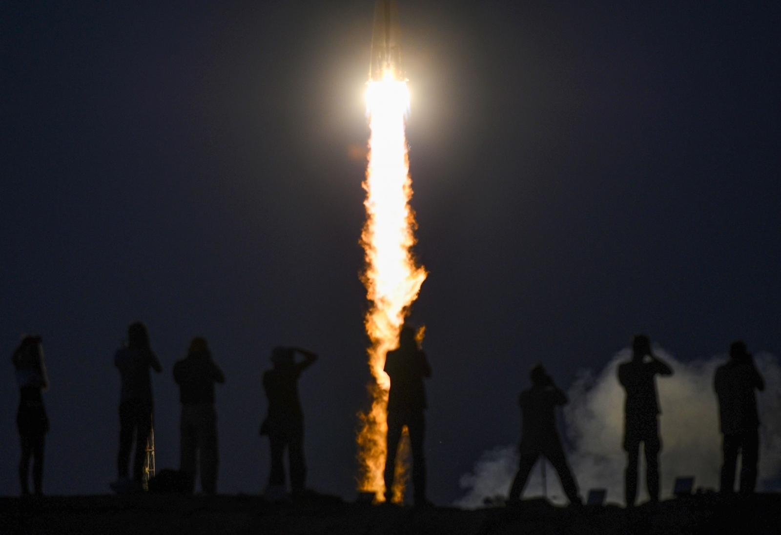 Russia's Soyuz MS-05 rocket