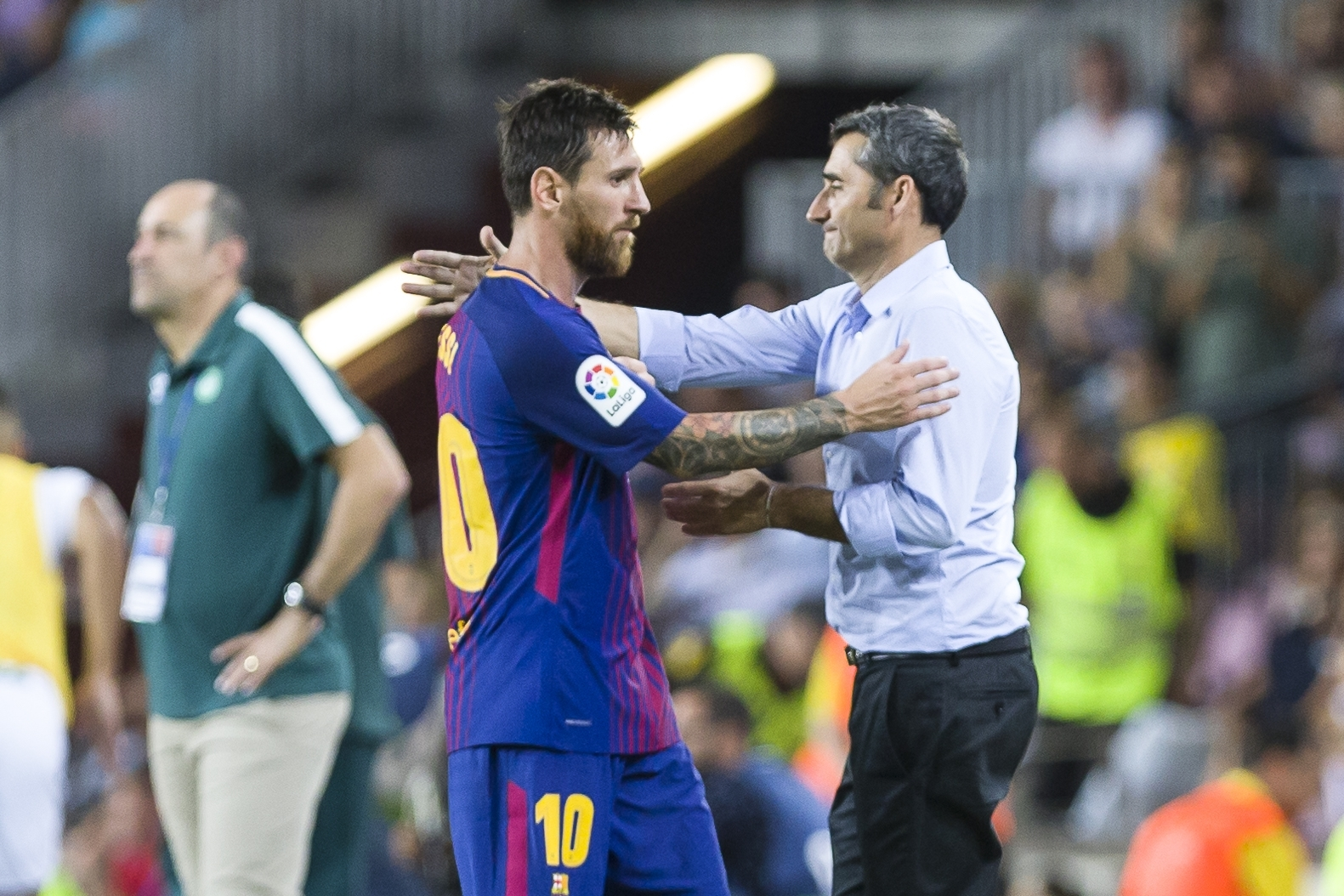 Messi Is The Best — Valverde