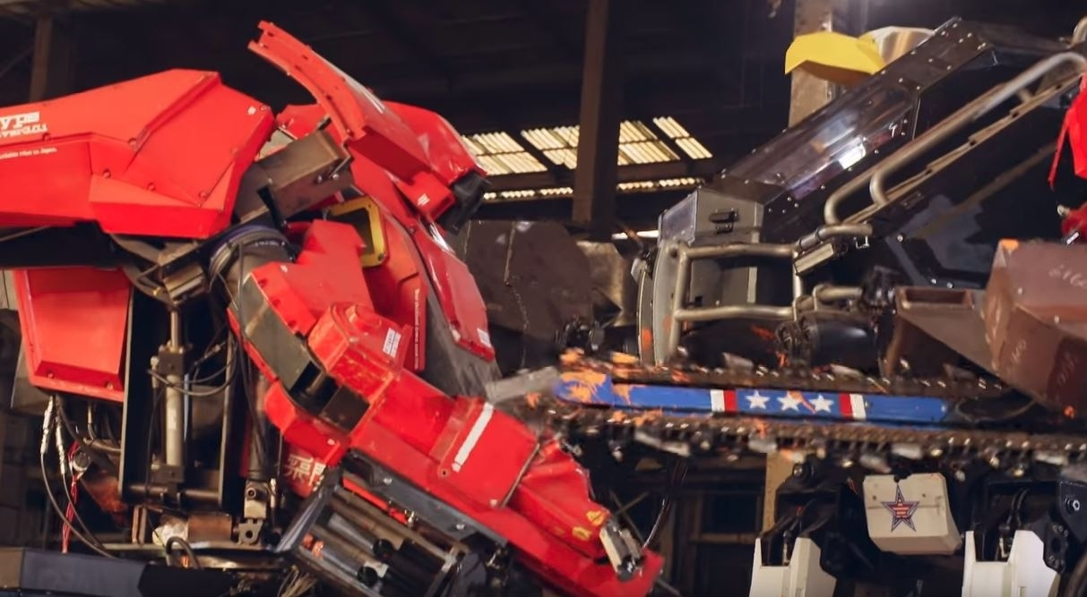US MegaBots beat Japan in world's first-ever giant robot showdown
