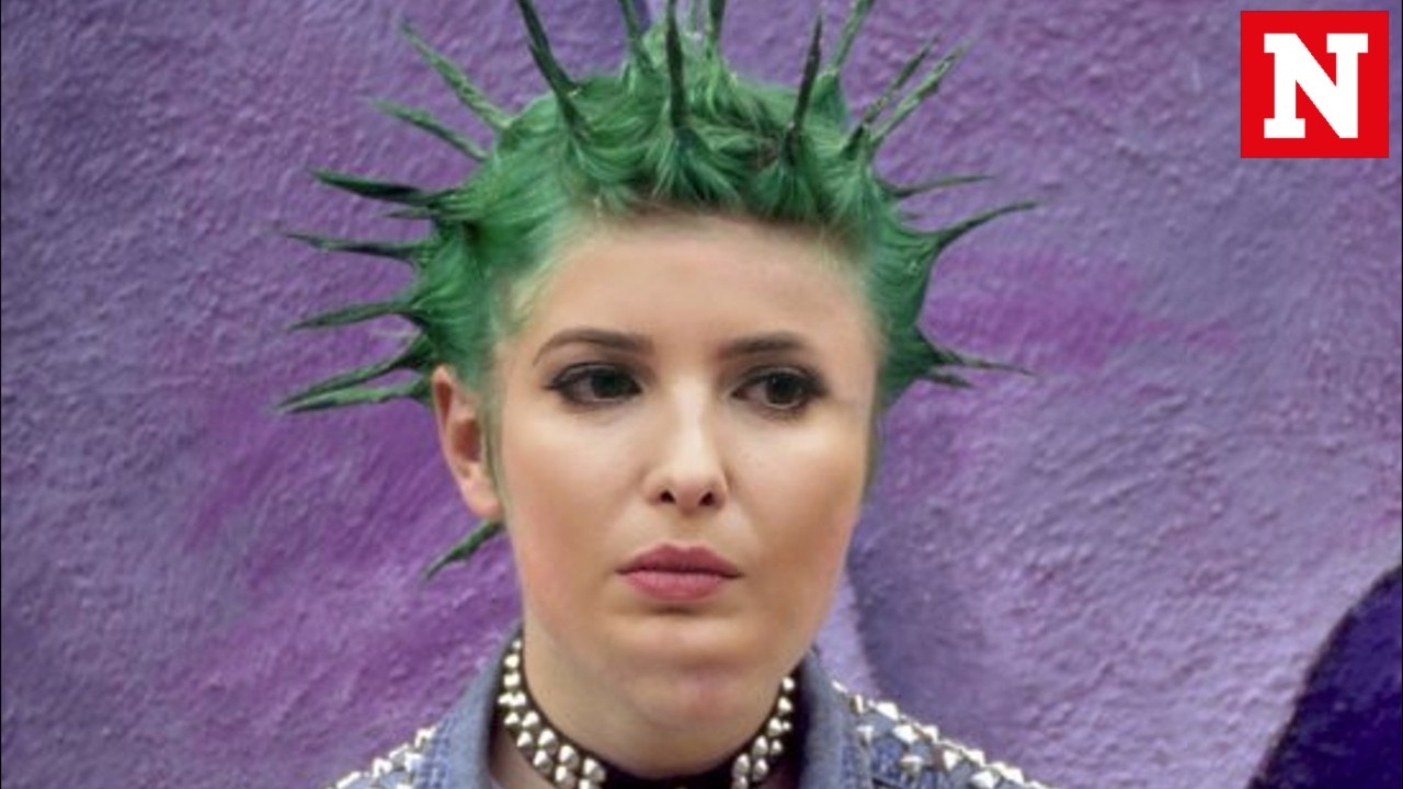 Ivanka Trump said she had a 'punk phase' and the internet loved it