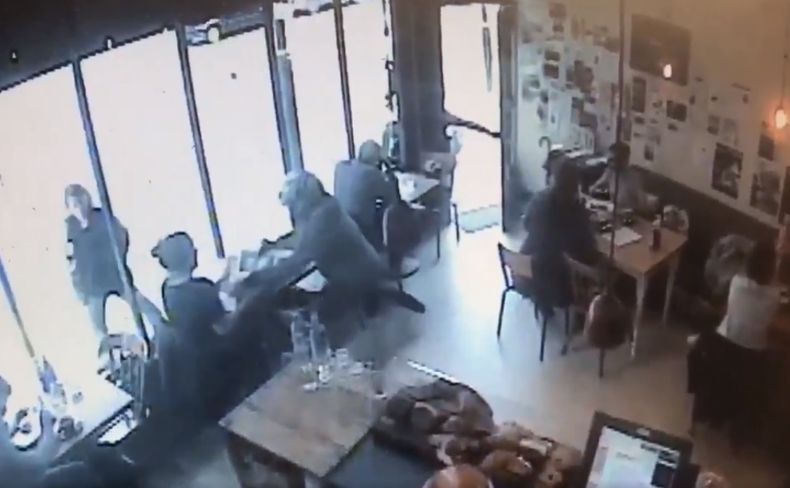Bread and Bean Cafe theft