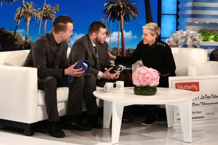 Jesus Campos Stephen Schuck Ellen DeGeneres