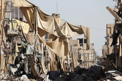 Inside Raqqa after Isis