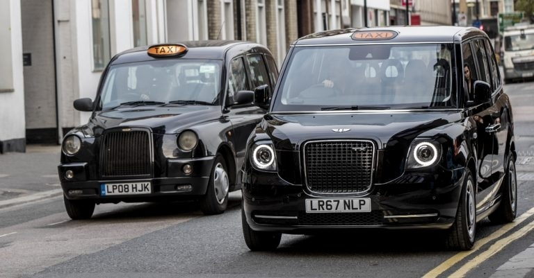 Electric black cabs