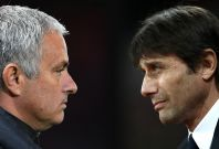 Jose Mourinho and Antonio Conte