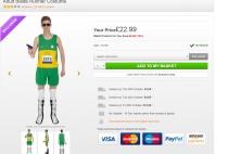 Oscar Pistorius costume