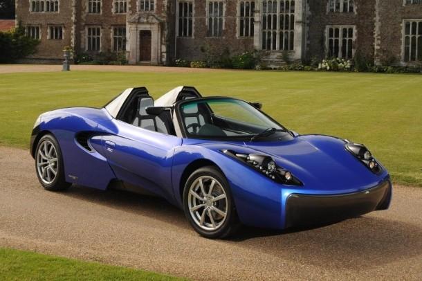 Mclaren F1 Designer Shows Off Electric Roadster Concept